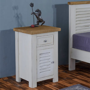 Kaveri Bedside Cabinet - Wood - Oak - Pine - Mango Wood - Painted - Natural Wood - Solid Wood - Lounge - Bedroom - Dining - Occasional - Furniture - Home - Living - Comfort - Interior Design - Modern