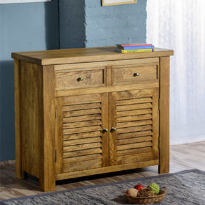 Modassa 2 Door 2 Drawer Sideboard - Wood - Oak - Pine - Mango Wood - Painted - Natural Wood - Solid Wood - Lounge - Bedroom - Dining - Occasional - Furniture - Home - Living - Comfort - Interior Design - Modern