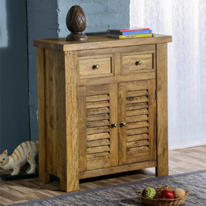 Modassa Small Sideboard - Wood - Oak - Pine - Mango Wood - Painted - Natural Wood - Solid Wood - Lounge - Bedroom - Dining - Occasional - Furniture - Home - Living - Comfort - Interior Design - Modern
