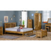 Modassa 5'0 King Size Bed - Wood - Oak - Pine - Mango Wood - Painted - Natural Wood - Solid Wood - Lounge - Bedroom - Dining - Occasional - Furniture - Home - Living - Comfort - Interior Design - Modern