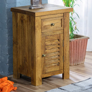 Modassa Bedside Cabinet - Wood - Oak - Pine - Mango Wood - Painted - Natural Wood - Solid Wood - Lounge - Bedroom - Dining - Occasional - Furniture - Home - Living - Comfort - Interior Design - Modern