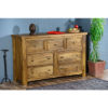 Modassa 7 Drawer Chest - Wood - Oak - Pine - Mango Wood - Painted - Natural Wood - Solid Wood - Lounge - Bedroom - Dining - Occasional - Furniture - Home - Living - Comfort - Interior Design - Modern