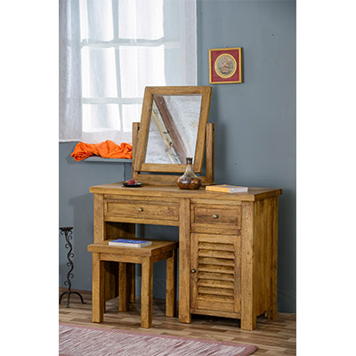 Modassa Dressing Table - Wood - Oak - Pine - Mango Wood - Painted - Natural Wood - Solid Wood - Lounge - Bedroom - Dining - Occasional - Furniture - Home - Living - Comfort - Interior Design - Modern