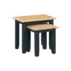 Banbury Nest Of 2 Tables - Wood - Oak - Pine - Mango Wood - Painted - Natural Wood - Solid Wood - Lounge - Bedroom - Dining - Occasional - Furniture - Home - Living - Comfort - Interior Design - Modern