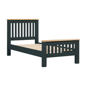 Banbury 3'0 Single Size Bed - Wood - Oak - Pine - Mango Wood - Painted - Natural Wood - Solid Wood - Lounge - Bedroom - Dining - Occasional - Furniture - Home - Living - Comfort - Interior Design - Modern