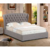 Hera Fabric Bed - Fabric - Bed - King Size - Double Size - Superking - Single - Relax - Comfort - Furniture - Steptoes - Paphos - Cyprus