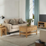 Eva Natural - Living room - lounge - Tv Unit - Coffee Table - Lamp End - Nest of Tables - Sofa - Furniture - Steptoes