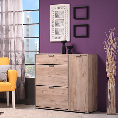 ARCO 2 SH 1 - SHOE CABINET - STORAGE - LOUNGE - HALL UNIT - SHOE TRUNK - UNIT - CABINET - STEPTOES - FURNITURE - CYPRUS - PAPHOS