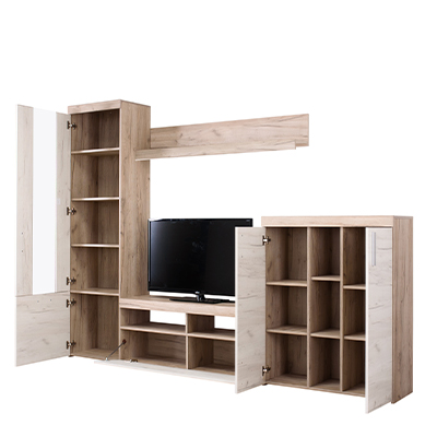 ARNO SH BH 1 - ENTERTAINMENT CENTER - TV UNIT - TV SHELF - DISPLAY UNIT - LIVING - LOUNGE - STORAGE - STEPTOES FURNITURE