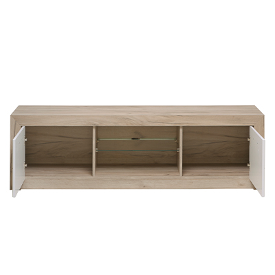 ASTOR 160 SH BLF 1 - TV UNIT - TV SHELF - LOUNGE - LIVING - TV - FURNITURE - STORAGE - STAND - UNIT - STEPTOES - FURNITURE