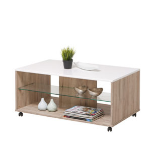 BERT SH BLF 1 - Coffee Table - Club Table - Lounge - Living - Stand - Shelves - Glass - Steptoes - Furniture