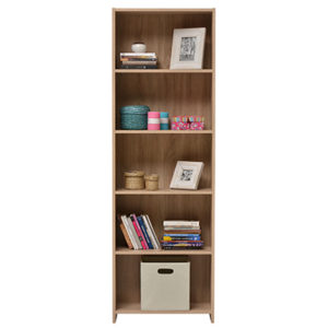 Buki Sonoma Oak Large Bookcase