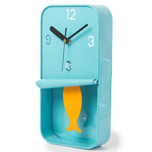 Sardine Tin Pendulum Wall Clock Assorted Colours