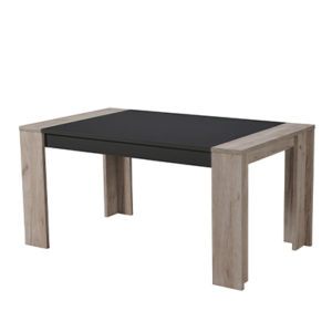 CREMONA TS 155X90 SH C - DINING TABLE - DINING - DINNER - TABLE - MDF - FURNITURE - STEPTOES - PAPHOS - CYPRUS