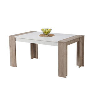 CREMONA TS 155X90 SH OB 3- DINING TABLE - DINING - DINNER - TABLE - MDF - FURNITURE - STEPTOES - PAPHOS - CYPRUS