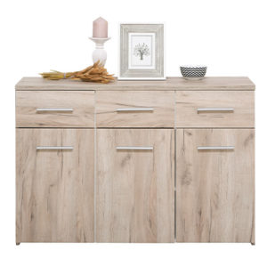 ELBA 3K3F SH 1- Cabinet – Chest – Sideboard – Doors – Drawers – Bedroom – Dining – Storage – Unit – Interior – Steptoes – Furniture