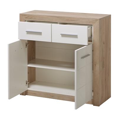 ETNA 2K2F SH BLF 1 - Cabinet – Chest – Sideboard – Doors – Drawers – Bedroom – Dining – Storage – Unit – Interior – Steptoes – Furniture