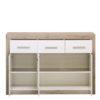 ETNA 3K3F SH BLF 1 - Cabinet – Chest – Sideboard – Doors – Drawers – Bedroom – Dining – Storage – Unit – Interior – Steptoes – Furniture