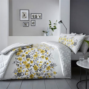 Gabriella Bed Set - Single - Double - King - Superking - Bedding - Sheets - Pillow cases - Bedroom - Home Accessories Linen