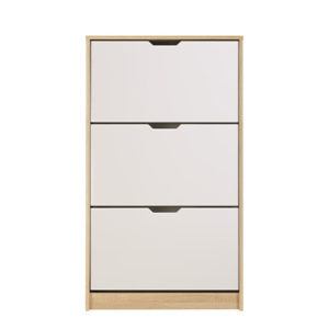 HUGO 23 F SO BLF 1 - SHOE CABINET - STORAGE - LOUNGE - HALL UNIT - SHOE TRUNK - UNIT - CABINET - STEPTOES - FURNITURE - PAPHOS