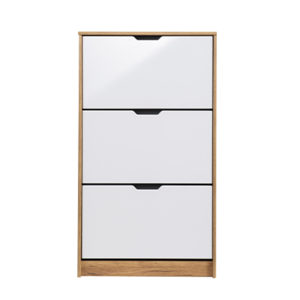 HUGO 23 F ZH BLF 1 - SHOE CABINET - STORAGE - LOUNGE - HALL UNIT - SHOE TRUNK - UNIT - CABINET - STEPTOES - FURNITURE - PAPHOS