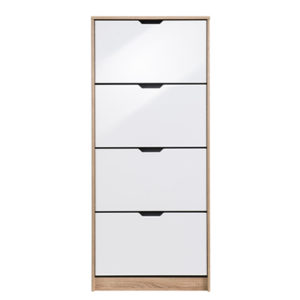 HUGO 24 F SO BLF 1 - SHOE CABINET - STORAGE - LOUNGE - HALL UNIT - SHOE TRUNK - UNIT - CABINET - STEPTOES - FURNITURE - PAPHOS