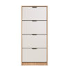 HUGO 24 F ZH BLF 1 - SHOE CABINET - STORAGE - LOUNGE - HALL UNIT - SHOE TRUNK - UNIT - CABINET - STEPTOES - FURNITURE - PAPHOS