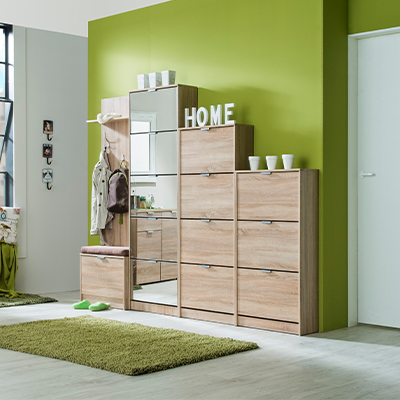 HUGO 24 SO 1 - SHOE CABINET - STORAGE - LOUNGE - HALL UNIT - SHOE TRUNK - UNIT - CABINET - STEPTOES - FURNITURE - PAPHOS