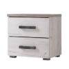 KENT NO BH SH 1 - Bedside Cabinet – Night Stand – Drawers – Unit – Modern – Bedroom – Furniture – Chest – Steptoes – Paphos – Cyprus
