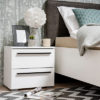 KSANTI NO2F OB BLF 1 - Bedside Cabinet – Night Stand – Drawers – Unit – Modern – Bedroom – Furniture – Chest – Steptoes – Paphos