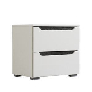 Karl NO2F OB CD BLF 1 - Bedside Cabinet – Night Stand – Drawers – Unit – Modern – Bedroom – Furniture – Chest – Steptoes – Paphos