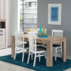 OSCAR TS 160X90 SH 1- DINING TABLE - DINING - DINNER - TABLE - MDF - FURNITURE - STEPTOES - PAPHOS - CYPRUS