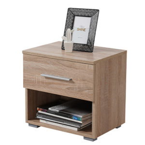 RITMO 2NO1F SO 1 - Bedside Cabinet – Night Stand – Drawers – Unit – Modern – Bedroom – Furniture – Chest – Steptoes – Paphos – Cyprus