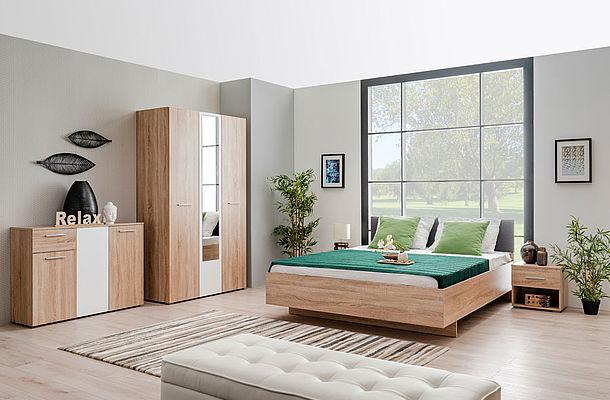 Modern Furniture - Bedroom - Lounge - Living Room - Dining - Dining Room - MDF - Flatpack - Ideal - Paphos - Cyprus - Steptoes Furniture