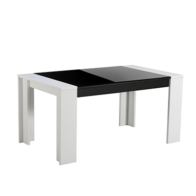 TOLEDO TS 155X90 OB C TPS 1- DINING TABLE - DINING - DINNER - TABLE - MDF - FURNITURE - STEPTOES - PAPHOS - CYPRUS