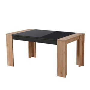 TOLEDO TS 155X90 ZH C TPS 1- DINING TABLE - DINING - DINNER - TABLE - MDF - FURNITURE - STEPTOES - PAPHOS - CYPRUS