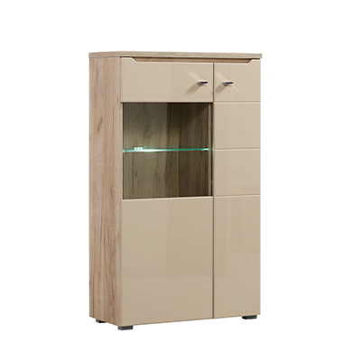TOSCANA 2K VS1 125 SH PLF 1- DISPLAY - CABINET - SHOWCASE - GLASS - DOOR - UNIT - LIVING - DINING - LOUNGE - STEPTOES - FURNITURE