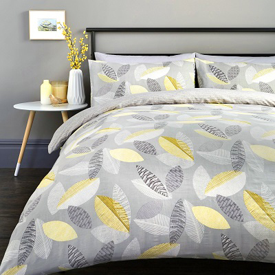 Tazio Bed Set - Single - Double - King - Superking - Bedding - Sheets - Pillow cases - Bedroom - Home Accessories Linen 2