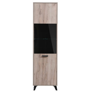 UMBRIA 1K VS SH C 1- DISPLAY - CABINET - SHOWCASE - GLASS - DOOR - UNIT - LIVING - DINING - LOUNGE - STEPTOES - FURNITURE