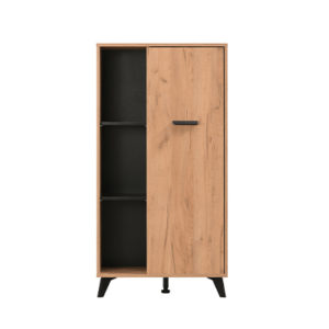 Umbria Golden Oak Low Display Cabinet