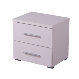 UNI NO2F OB 1- Bedside Cabinet – Night Stand – Drawers – Unit – Modern – Bedroom – Furniture – Chest – Steptoes – Paphos