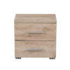 UNI NO2F SH 1- Bedside Cabinet – Night Stand – Drawers – Unit – Modern – Bedroom – Furniture – Chest – Steptoes – Paphos