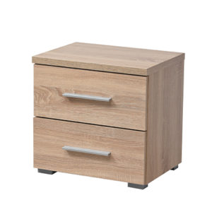 UNI NO2F SO 3- Bedside Cabinet – Night Stand – Drawers – Unit – Modern – Bedroom – Furniture – Chest – Steptoes – Paphos