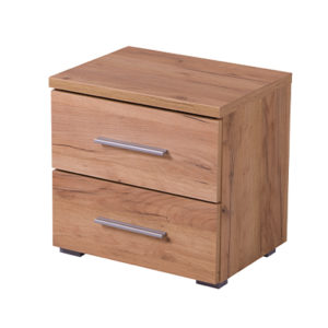 UNI NO2F ZH 1- Bedside Cabinet – Night Stand – Drawers – Unit – Modern – Bedroom – Furniture – Chest – Steptoes – Paphos