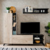 VITERBO SH C 1 - ENTERTAINMENT CENTER - TV UNIT - TV SHELF - DISPLAY UNIT - LIVING - LOUNGE - STORAGE - STEPTOES FURNITURE