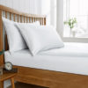 White Fitted Sheet - Ivory Fitted Sheet - Single - Double - King - Superking - Extra Deep - Bedding - Bed linen - Linen - Accessories - Home Accessories