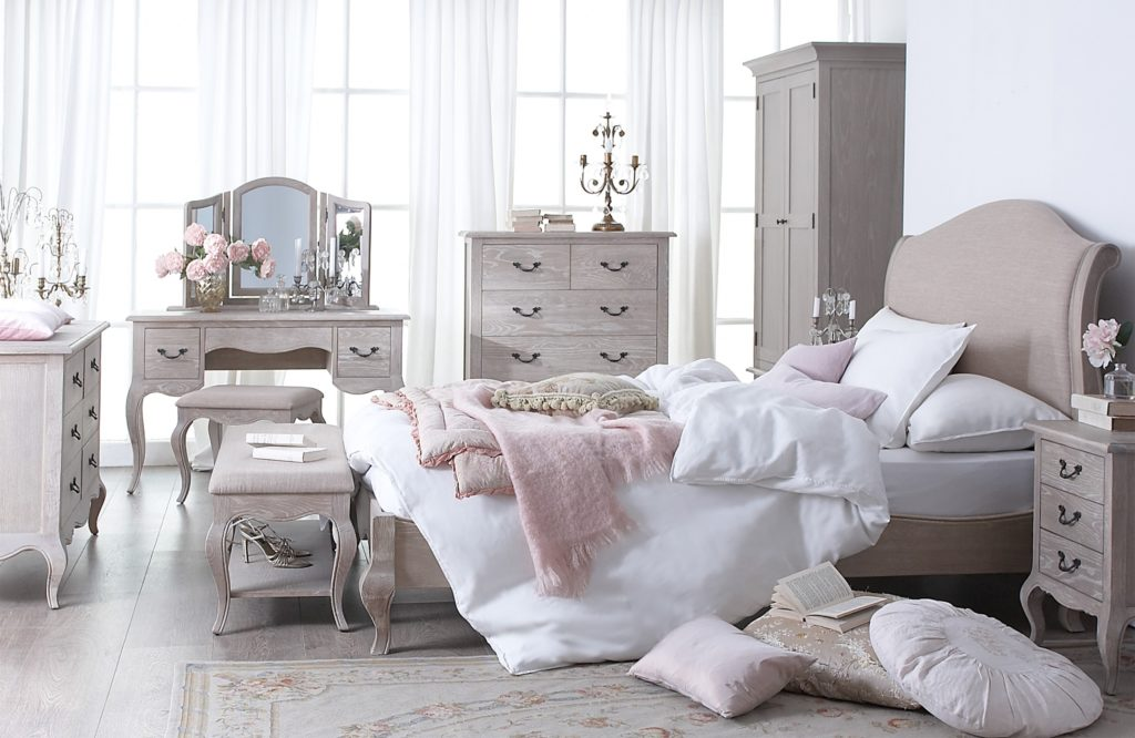 Florence Range - Bedroom - Furniture - Vintage Furniture - Classic - French Style - Solid Wood - Oak - Pine - Furniture - Steptoes - Paphos - Cyprus