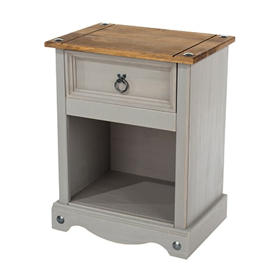 Mexican Grey - Grey Waxed Pine - Pine - Furniture - Living - Dining - Bedroom - Occasional - Flatpack - Classic - Paphos - Cyprus - Steptoes
