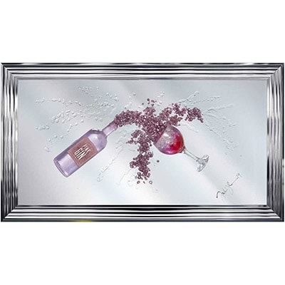 Wall art - Framed Pictures - Framed Mirrors - Chrome - Modern - Stylish - Elegant - Pictures - Mirrors - Decor - Home - Furnishings - Steptoes - Paphos - Cyprus