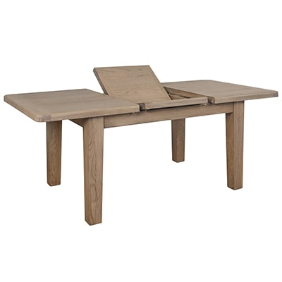 Perth Oak Small Dining Table - Dining Table - Table - Dining - Furniture - Oak - Smoked Oak - Solid Wood Furniture - Paphos - Cyprus - Steptoes